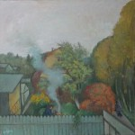 """Александр Бабин """"Осень на даче"""" 2012"""