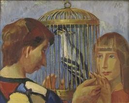 "М.Даугавиете ""Птица в клетке"""
