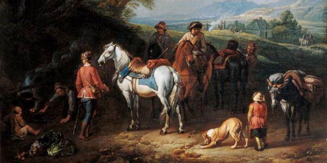 16 января 1657 года родился Питер ван Блумен.