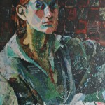 """1. Тимошенко Лидия """"Автопортрет"""" 1925 Холст, масло 58х44"""