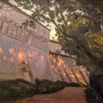 """Станислав Жуковский """"Вечерние лучи"""" 1901"""