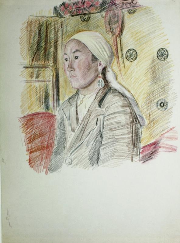 Владимир Фаворский «Женский портрет»