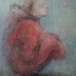 "3. Утенкова-Тихонова Елена ""Бабочка"" 2008 Холст, масло 70х60"