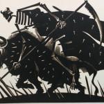 "Дмитрий Бисти ""Интернационал. Иллюстрация"" 1970"