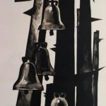 """Дмитрий Бисти """"Эйжен Веверис """"Сажайте розы в проклятую землю"""". Иллюстрация"""" 1977"""