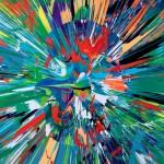 """Дэмиен Херст """"Прекрасный Муруга, интенсивная параноидальная живопись (с эманацией красоты)"""" 2008"""