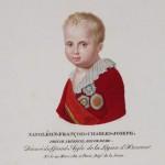 """Ф.Велин (с оригинала 1813) """"Портрет Наполеона II Бонапарта"""""""