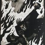 "Дмитрий Бисти ""Акутагава Рюноскэ ""Новеллы"". Иллюстрация"" 1974"