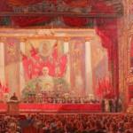 """Александр Герасимов """"Гимн Октябрю. Эскиз"""" 1942"""