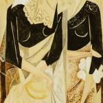 "Наталия Гончарова ""Две испанки"" Около 1927"