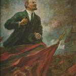 """Александр Герасимов """"В.И.Ленин на трибуне"""" 1930"""