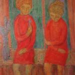 "9. Табенкин Илья ""Без названия"" 1960-е Холст, масло 80,5х56,5"