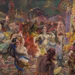 """Александр Герасимов """"Половецкие пляски"""" 1955"""
