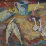 """В.А.Глухов """"Вобла и кружка"""" 2011"""