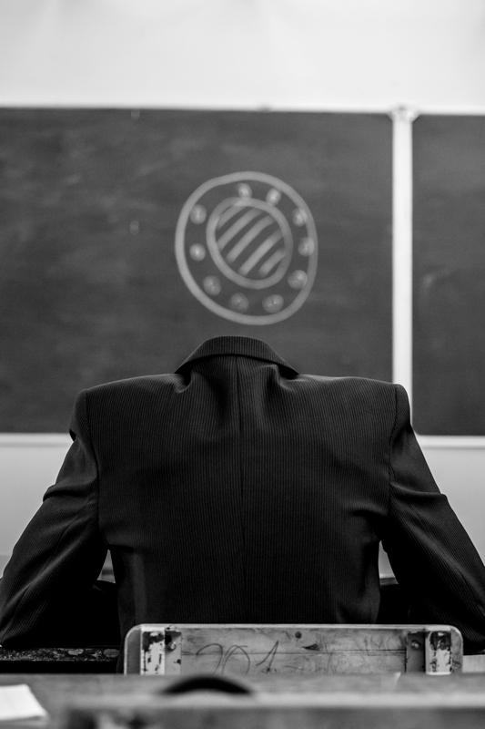 """Виктор Боровский, Новосибирск """"Из серии «Внутреннее пространство одиночества» 2013"""