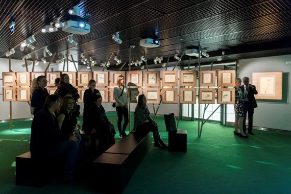 """Выставка """"Волшебная клетка». До 28.02.2016 в Музее А3."""