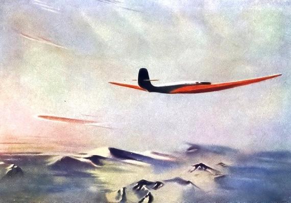 Александр Дейнека «Краснокрылый гигант» 1937