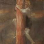 "15. Утенкова-Тихонова Елена ""Дерево"" 2005 Холст, масло 110х80"