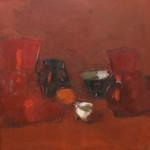 "М.М.Бабенков ""Красный натюрморт"" 2010"