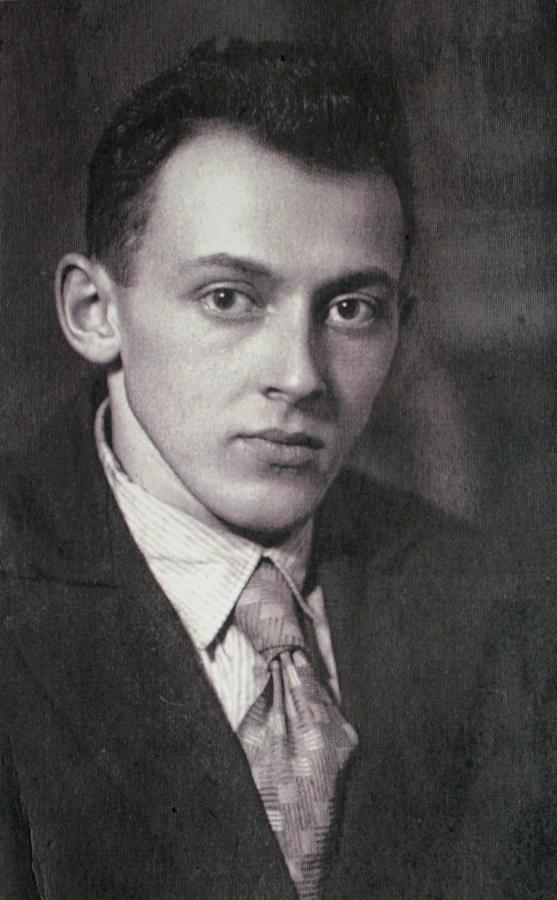 Илья Табенкин. Фотография 1940-х. Из архива Л.Табенкина.