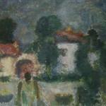 "11. Григорьева Екатерина ""Таруса"" 1973 Холст, масло 60х65"