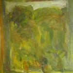 """28. Лукашевкер Александра """"Свистуха"""" 1972 Холст, масло 65х55"""