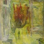 "33. Лукашевкер Александра ""Калистово. Букет"" 1976 Холст, масло 59х39"