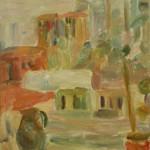 "43. Лукашевкер Александра ""Лианозово. Натюрморт в интерьере"" 1973 Холст, масло 80х65"
