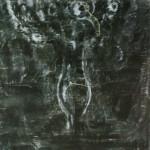 """54. Лукашевкер Александра """"Цветы в кувшине"""" 1968 Бумага, темпера 156х97"""