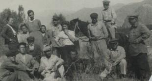 Выступление В.А.Фаворского на конференции по эпосу «Манас».