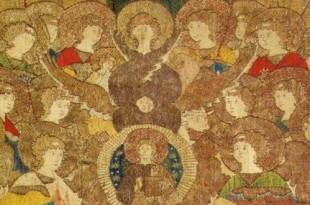 Пелена «Собор архистратига Гавриила». Первая половина 16 века.