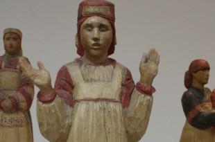 Выставка скульпторов Михаила Смирнова и Маргариты Воскресенской.