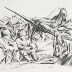 """Юлия Оболенская """"Слепцы"""" 1924"""