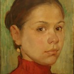 "Дарья Котлярова ""Автопортрет"" 2004"