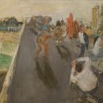 """Натта Конышева """"Общество на крыше"""" 1999"""