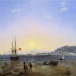 """Иван Айвазовский """"Керчь"""" 1839"""