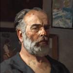 Гелий Коржев «Автопортрет» 1980