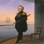 """И.К.Айвазовский """"Вице-адмирал М.П. Лазарев"""" 1839"""