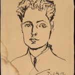 "Пабло Пикассо ""Портрет советского дипломата"" 1966"
