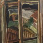 """Андронов Н.И. """"Окно моего дома"""" 1981"""