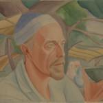 """Юлия Оболенская """"Константин Кандауров в Бухаре"""" 1921-1925"""