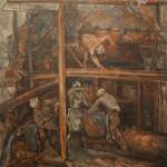 """Давид Девинов-Нюренберг """"Цех"""" 1936"""