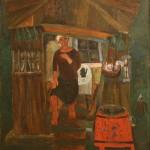 """Виктор Калинин """"Ожидание"""" 1968"""