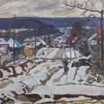 """Браговский Э.Г. """"Первый снег"""" 1969"""