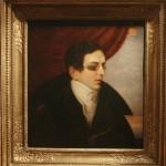 """Неизвестный художник с оригинала О.Кипренского (1826-1828) """"Портрет Н.И.Гнедича"""" Вторая половина 19 века"""