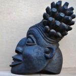 Маска-шлем. Маконде. Танзания. Дерево