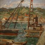 "Давид Девинов-Нюренберг ""В порту"" 1929"