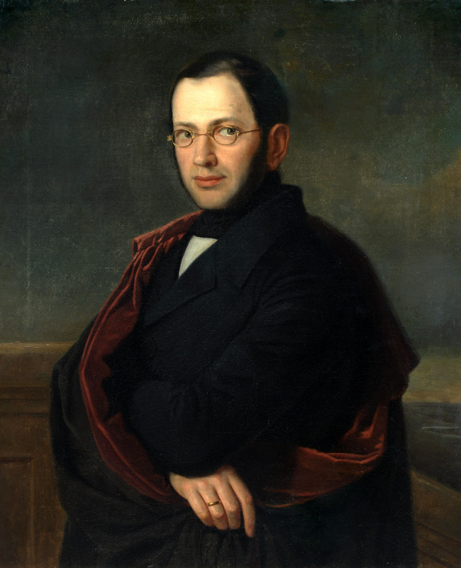 """Неизвестный художник """"Портрет А.Н.Раевского"""" 1840-е"""