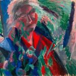 """Тамара Шиловская """"Портрет Ксении Берман"""" 1973"""