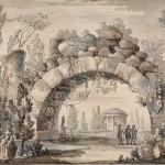 """Джакомо Кваренги """"Парковый пейзаж с аркой"""""""